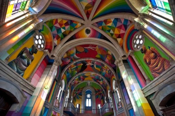 Century- Spanish Church Transforms Art-filled