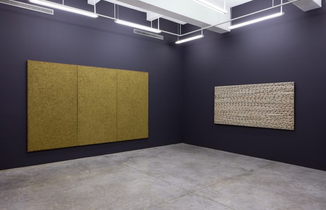 View of the exhibition 'Ha Chong-hyun: Conjunction' at Tina Kim Gallery (photo courtesy Tina Kim Gallery)