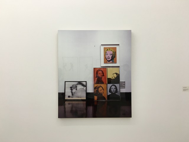 """Louise Lawler """"Life After 1945 (Faces)"""" 2006-2007"""