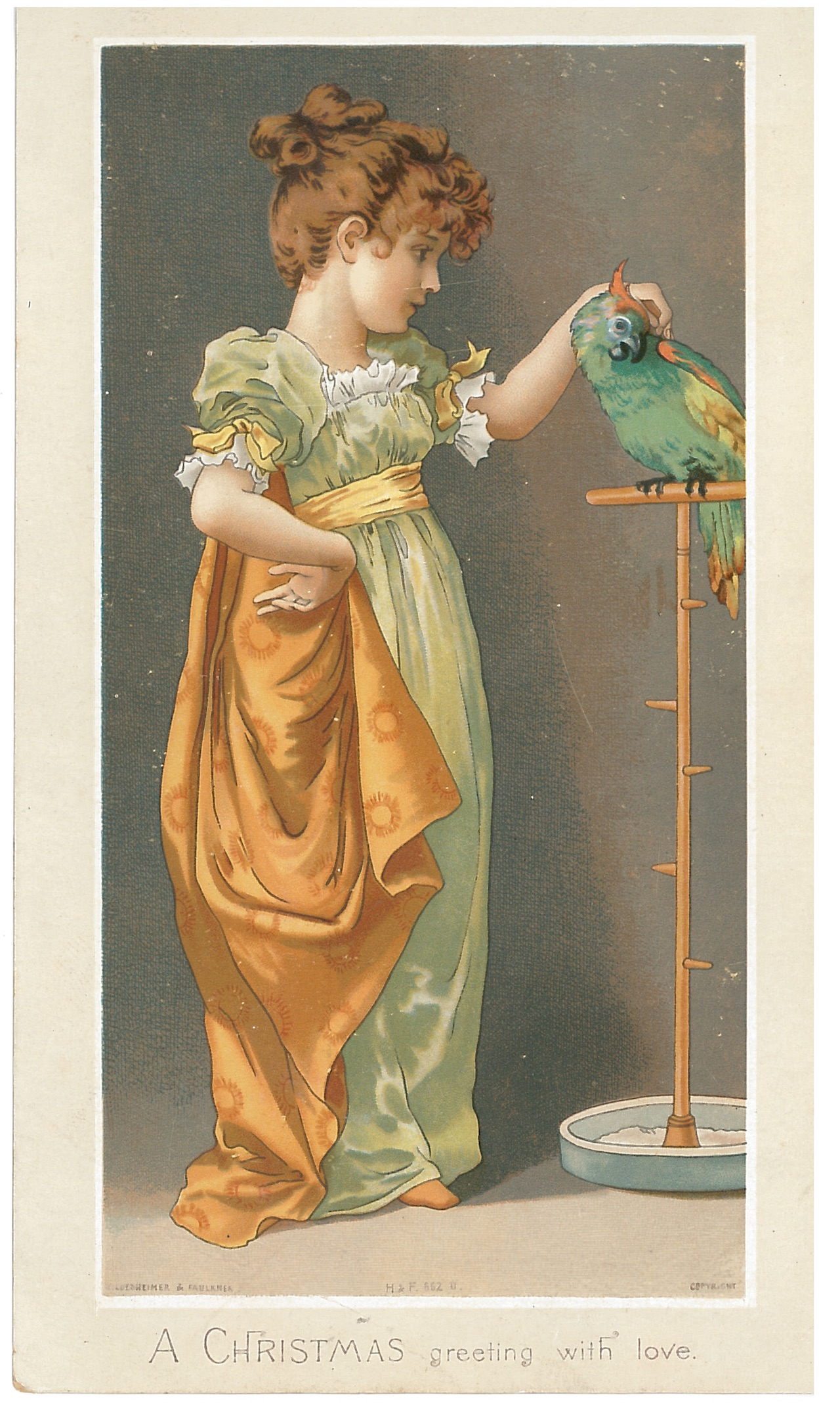The Victorian Christmas Card As Aesthetic Object