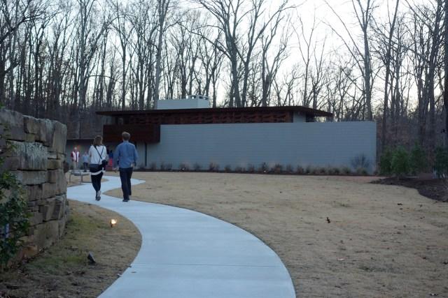Frank Lloyd Wright's Bachman-Wilson House at Crystal Bridges Museum of American Art, Bentonville, Arkansas