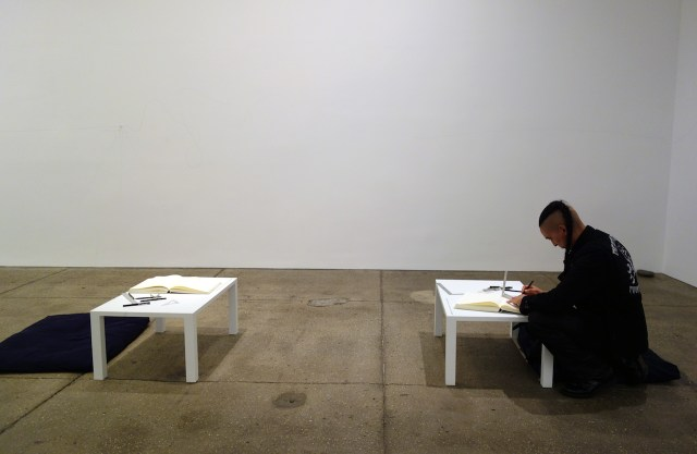 'The Riverbed' by Yoko Ono at Galerie Lelong