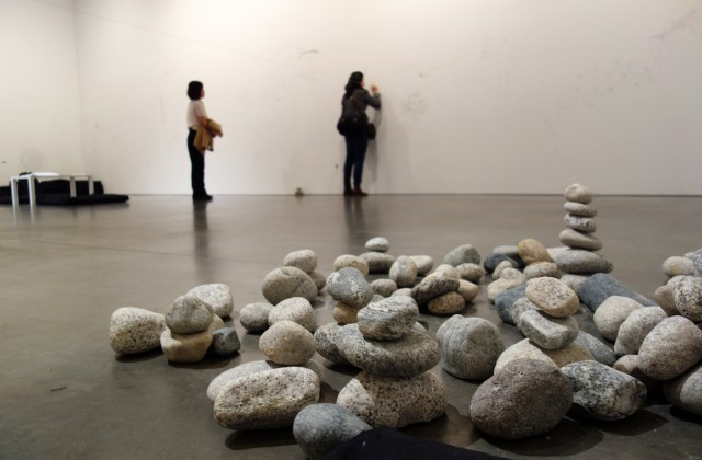 'The Riverbed' by Yoko Ono at Andrea Rosen Gallery