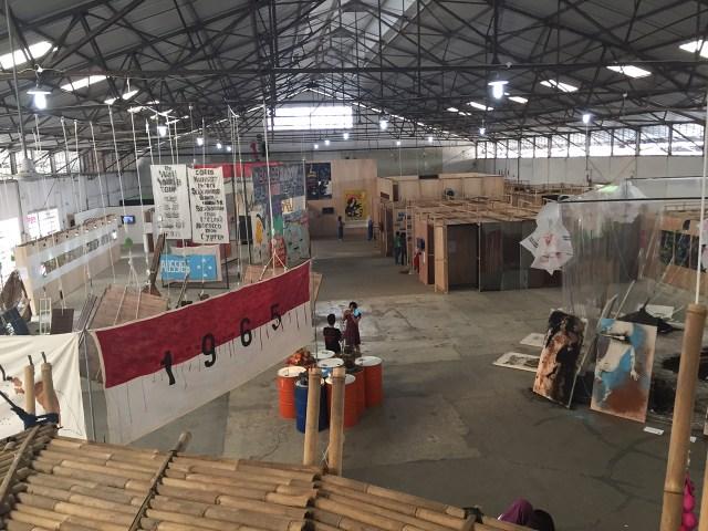 Installation view, Jakarta Biennale 2015