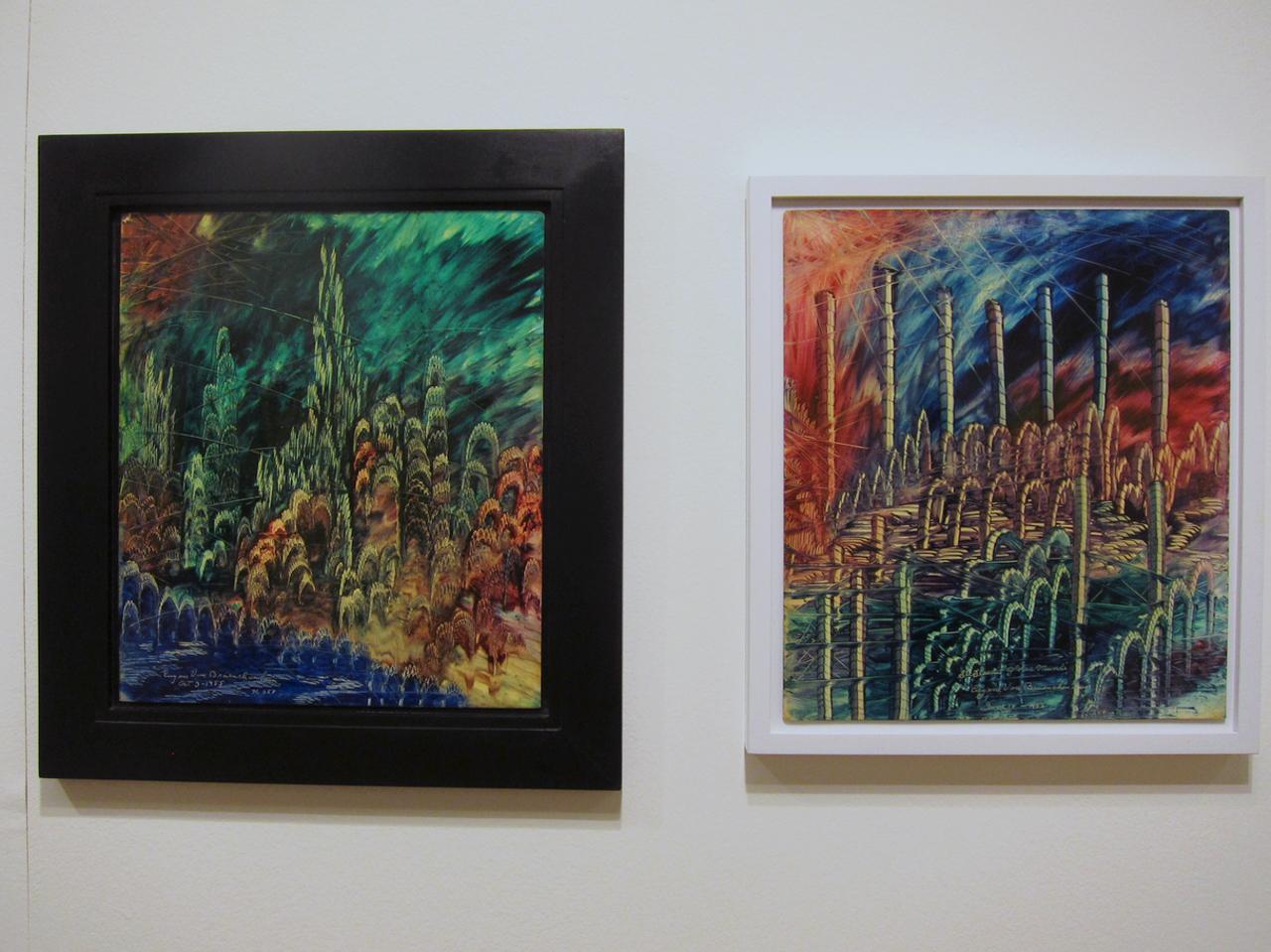Eugene Von Bruenchenhein at Andrew Edlin gallery