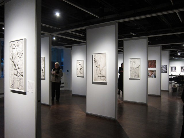 Exhibition view of The Missing