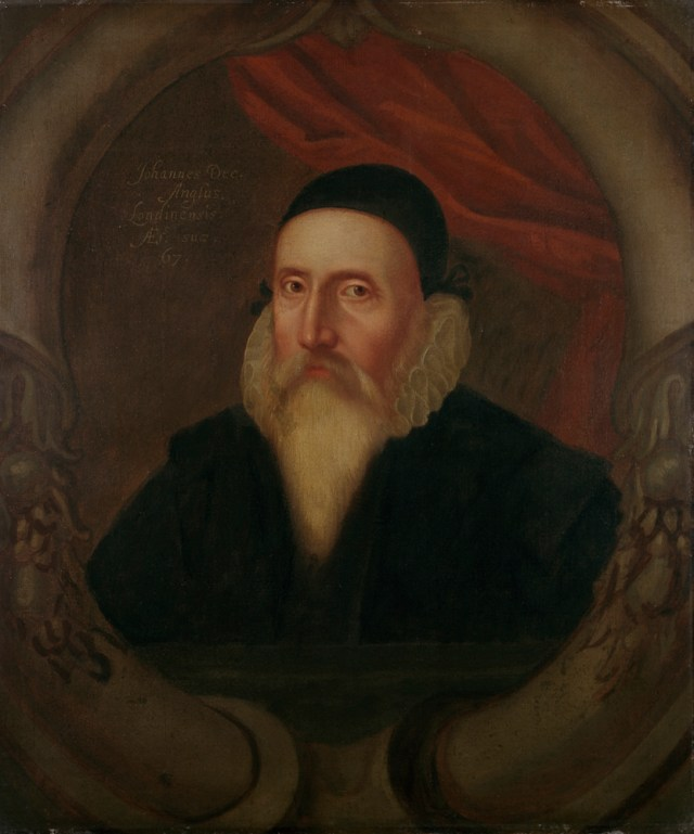 John Dee Ashmolean Portrait (artist unknown) (1594) (© Ashmolean Museum, University of Oxford)