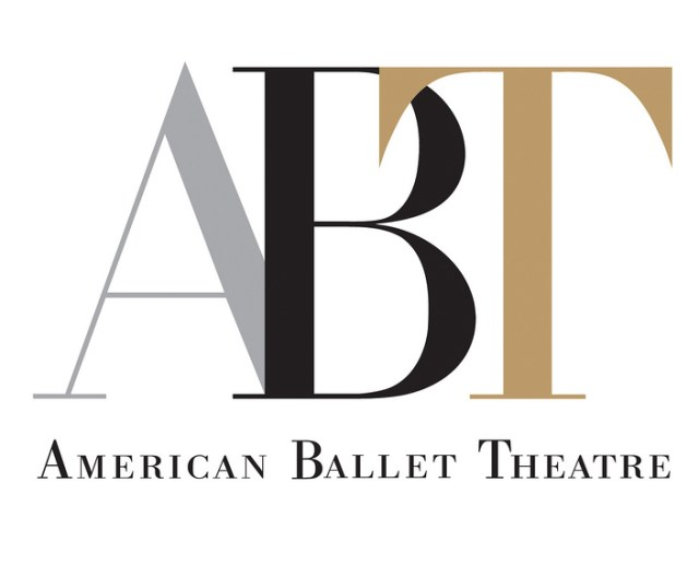 American Ballet Theatre Logo, with a similar squished typography (image via Wikipedia)