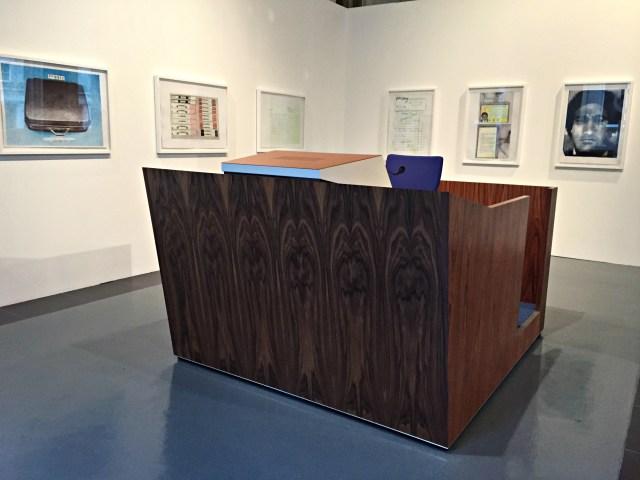 "Nathan Coley, ""Lockerbie Witness Box"" (2003)"