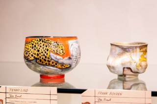 'Object Focus: The Bowl,' installation view, 2013, at the Museum of Contemporary Craft (photo by Matthew Miller)
