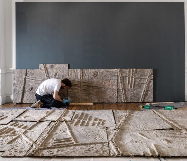 Installation of New Horizons by Trevor Tennant © Historic England