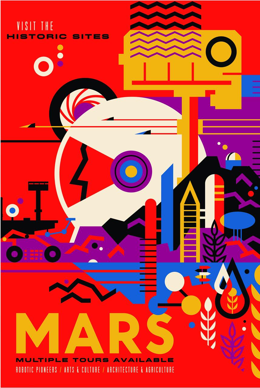 nasa releases retro posters