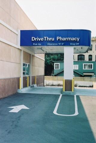 "Jeanne Susplugas, ""Drive Thru Pharmacy"" (2008), poster, 60x40 cm"