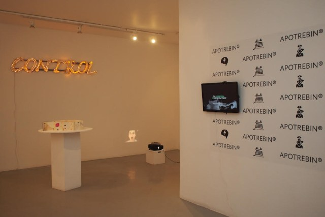 'Pharmakon,' installation view