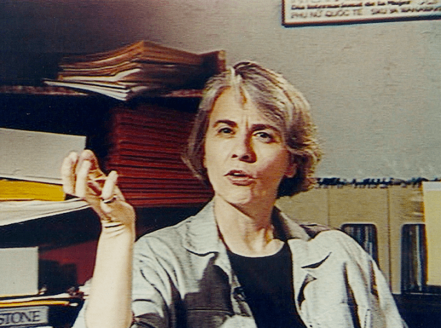 Camille Paglia as herself © Dancing Girl Productions