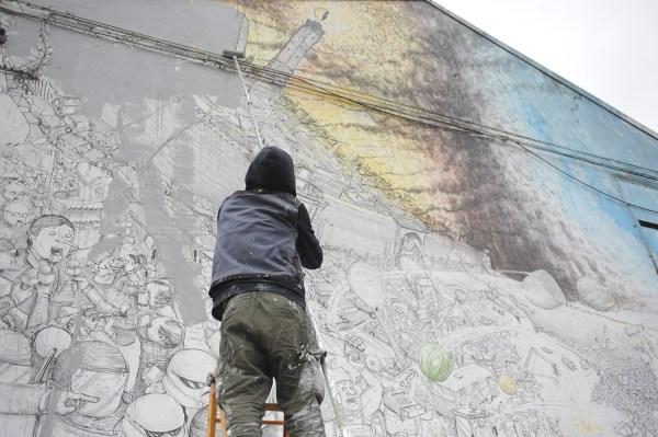 Street Artist Blu Destroys 20 Years Of Work In Bologna