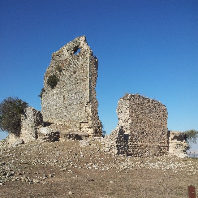 The castle pre-restoration, in 2014 (photo via @damibuenvron/Instagram)