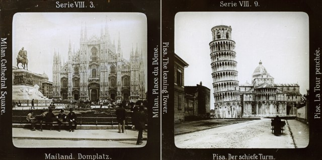 Views of Italy from EYE FIlm Institute Netherlands' collection (© 2016 Sarah Dellmann)