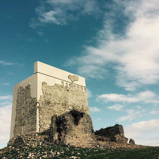 The restored Matrera Castle (photo via @sita_cg/Instagram)