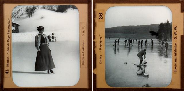 "G.W. Wilson, ""Skating – 'Outside Edge Backwards' (1891) (Digital image © 2016 Philip and Rosemary Banham)"