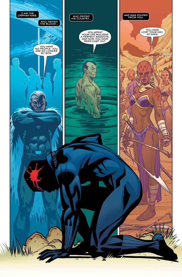 Page from 'Black Panther #1'