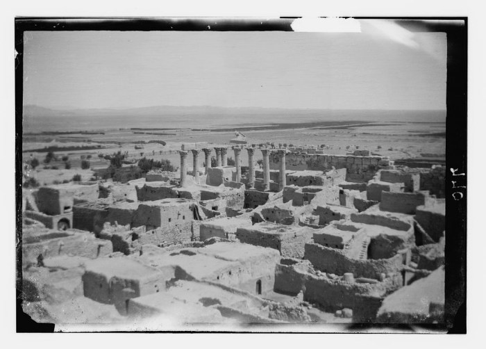 The early 20th-century village (photo courtesy of Matson Photograph Collection, via Library of Congress)