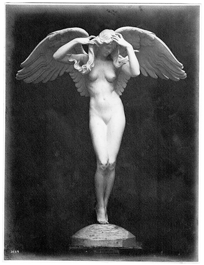 """Descending Night"" by Adolph Alexander Weinman (1909 photography) (Pacific Gas and Electric Magazine, courtesy San Francisco Public Library Collection)"