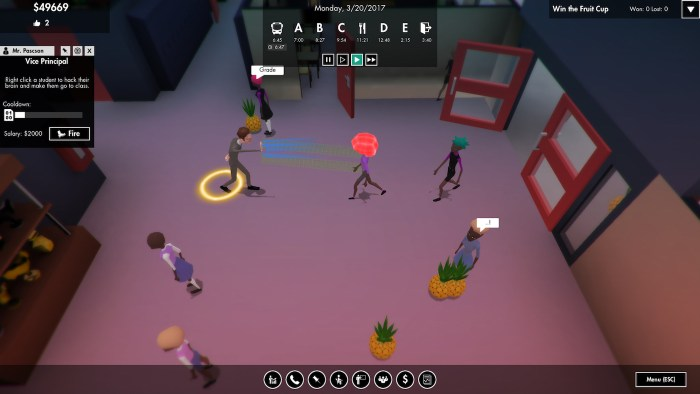 Scene from 'No Pineapple Left Behind' (courtesy Subaltern Games)
