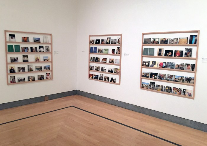 A view of part of Wendy Ewald's contribution to the project.