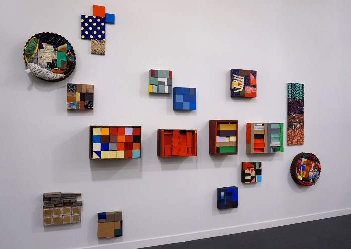 Nancy Shaver at Derek Eller Gallery