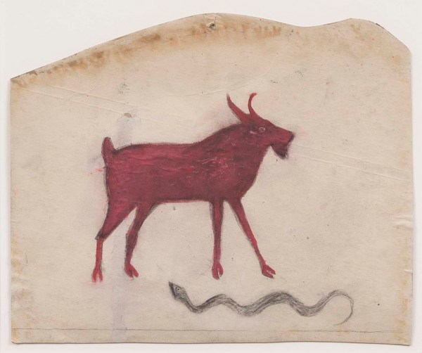 Smithsonian Doubles Bill Traylor Holdings Of