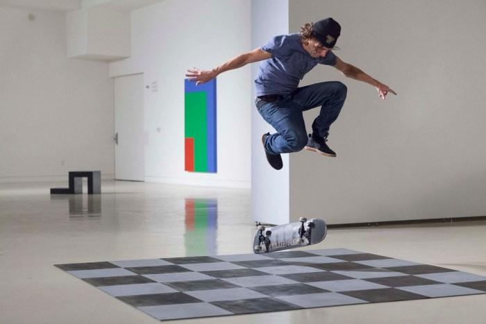"Shaun Gladwell, ""Skaters vs Minimalism"" (via torranceartmuseum.com)"