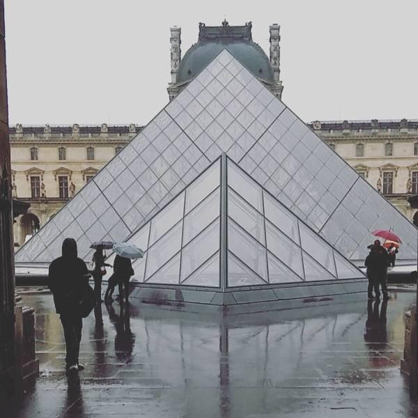 Paris Louvre 2018 Flooding