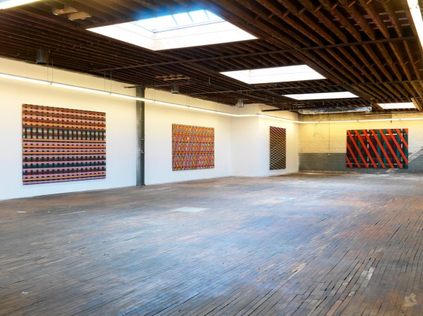 Sean Scully Bent Grid