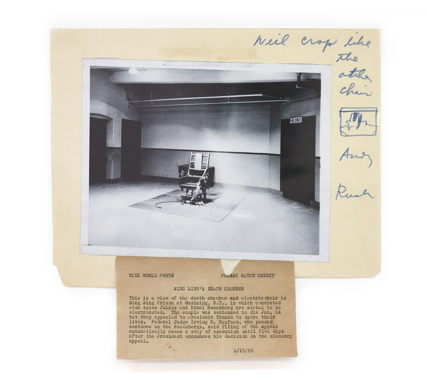 sing electric chair folding with armrest death and by warhol