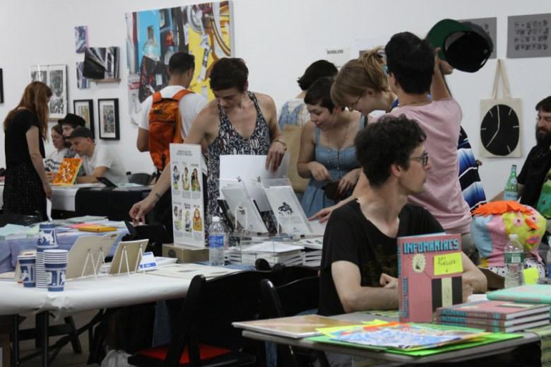 Bushwick Art Book and Zine Fair 2015 (photo courtesy Blonde Art Books)