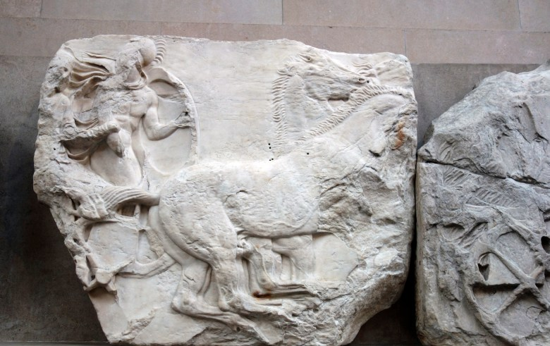 The Parthenon Marbles at the British Museum