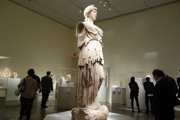 Two Colossal Hellenistic Statues Stay Met