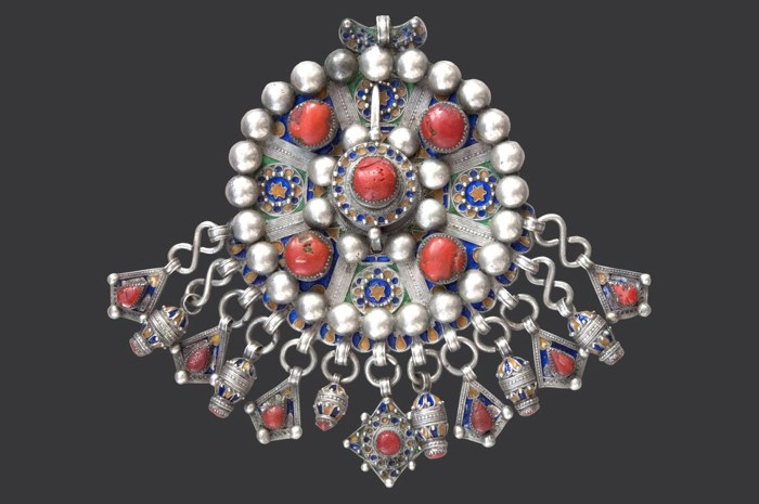 The Pulsing Patterns Of Traditional North African Jewelry