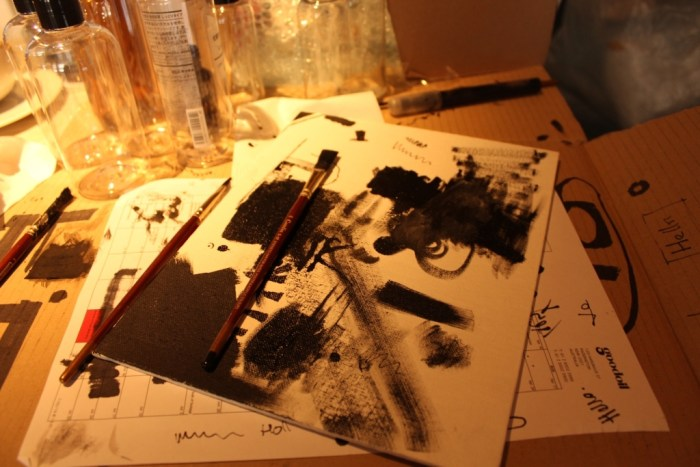 Painting with Air Ink