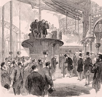 The Prince of Wales opening the Metropolitan Main-drainage works at Crossness in 1865 image via Wikipedia) click to enlarge)