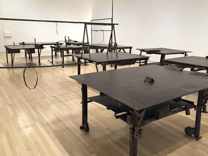 Work by Sterling Ruby.