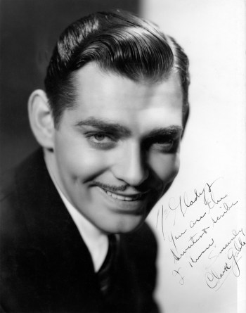 Clark Gable. Courtesy of the A.M.P.A.S.
