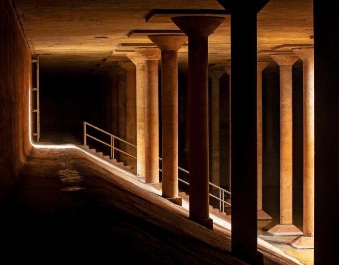 The Buffalo Bayou Park Cistern (courtesy Donald Lipski)