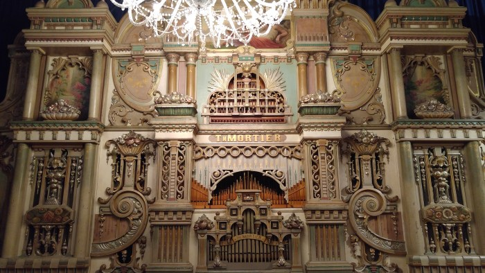An Orchestrion at the Museum Speelklok (all photos by the author for Hyperallergic unless indicated otherwise) (click to enlarge)
