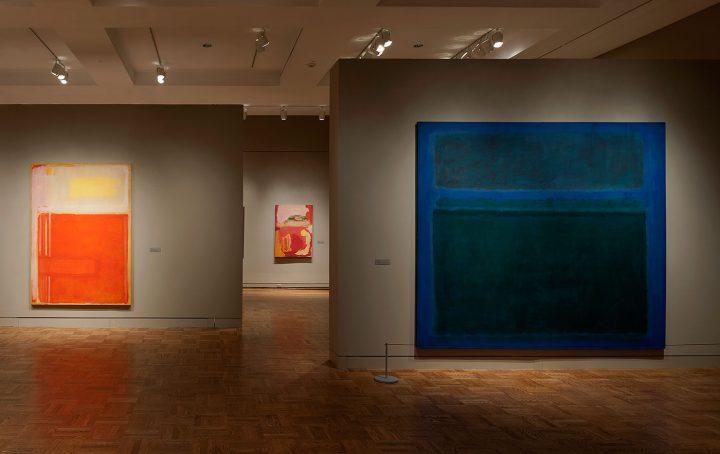 The 2012 Mark Rothko retrospective at the Portland Art Museum (image courtesty the Portland Art Museum)