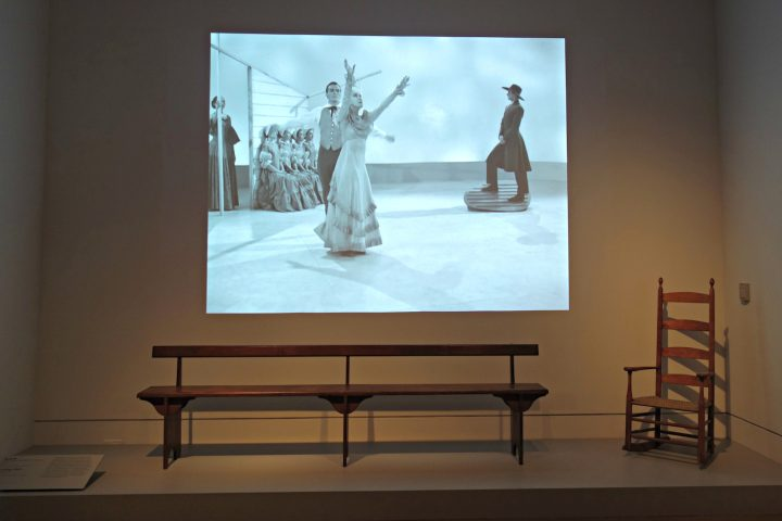 Installation view of 'Simple Gifts: Shaker at The Met' (photo by the author for Hyperallergic)