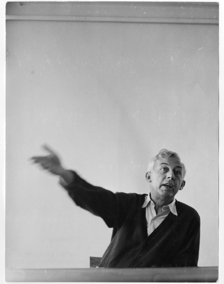 Robert Bresson at the Cannes Film Festival in 1962 (photo by and © Jaakko Tervasmaki)