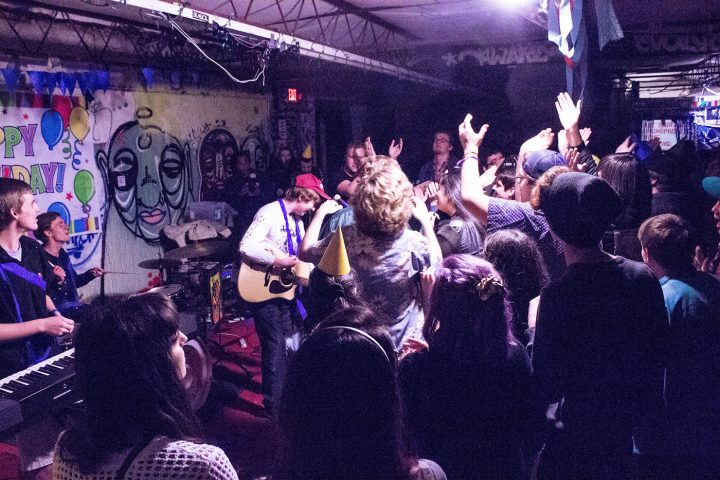 A concert by the band Cheap Haitcuts at 1919 Hemphill in 2015 (photo by Madison Gostkowski/Flickr)