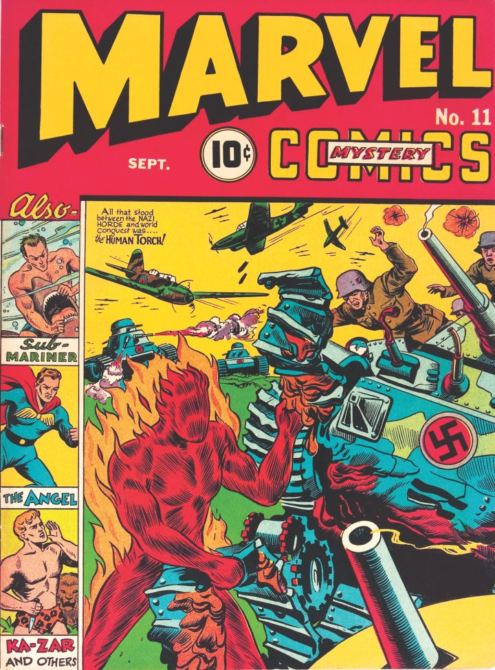 Cover of Marvel Mystery Comics #11 (September 1940)